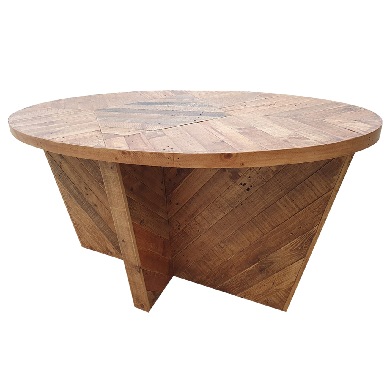 Reclaimed Droplets Dining Table